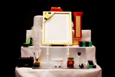 後飾り祭壇(中陰壇)には四十九日まで、どんなお供え物をしたら良いの?